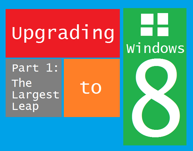 Upgrading to Win8