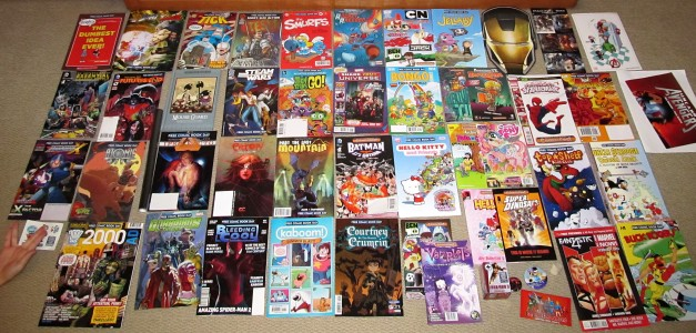 My FCBD Comics Haul