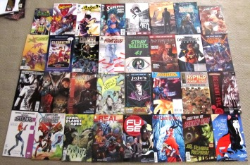 The comics I picked up at FCBD 2015